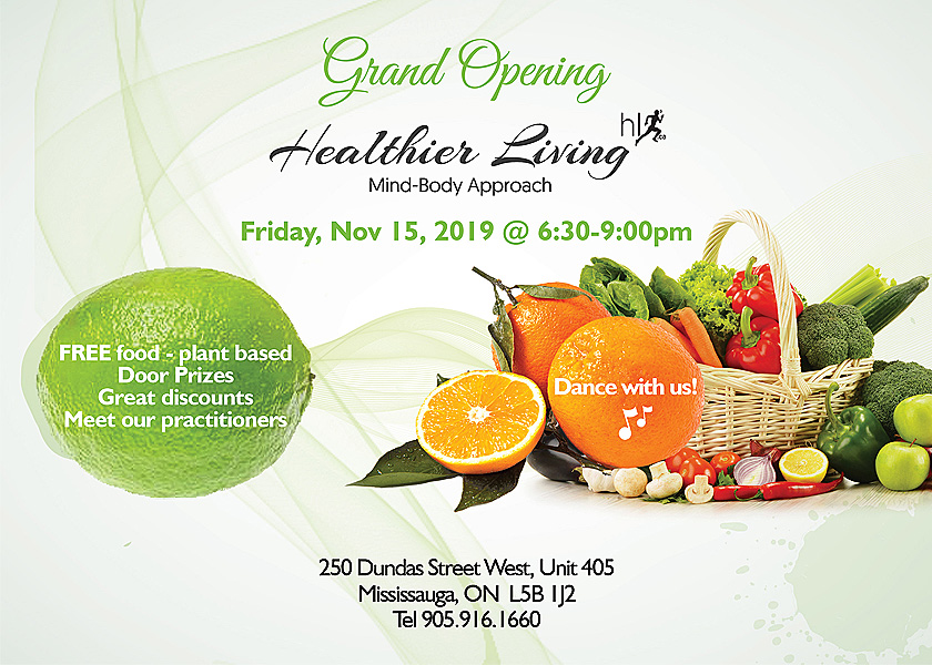 Grand Opening of the Health Clinic in Mississauga